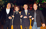 From left: Greg Miller, Suzy Bergner, Dick Bergner and Jeff Casbeer at the Social Book 2010 launch party at Discovery Green Park Thursday Jan. 21,2010.(Dave Rossman/For the Chronicle)