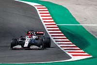 30th April 2021; Algarve International Circuit, in Portimao, Portugal; F1 Grand Prix of Portugal, Free practise:  07 RAIKKONEN Kimi (fin), Alfa Romeo Racing ORLEN C41
