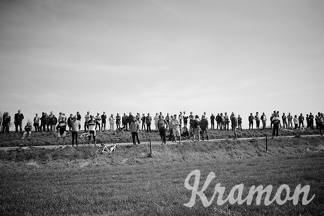 waiting for the riders<br /> <br /> 50th Amstel Gold Race 2015