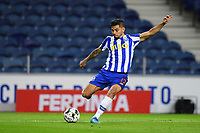22nd April 2021; Dragao Stadium, Porto, Portugal; Portuguese Championship 2020/2021, FC Porto versus Vitoria de Guimaraes; Jesus Corona of FC Porto crosses into the Guimaraes box