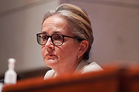 United States Representative Madeleine Dean (Democrat of Pennsylvania) asks questions during a US House Judiciary Committee hearing to discuss police brutality and racial profiling on Wednesday, June 10, 2020.<br /> Credit: Greg Nash / Pool via CNP/AdMedia