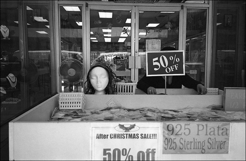 """50% OFF<br /> From """"Miami in Black and White"""" series<br /> Downtown Miami, Feb 2011"""