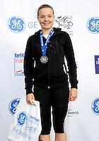 Photo: Richard Lane/Richard Lane Photography. GE Parc Bryn Bach Triathlon. 19/09/2010. Lucy Smith, winner of the  Junior Super Series Women Champions.