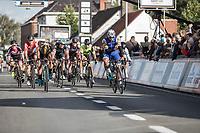Race winner Fernando Gaviria (COL/Quick Step Floors) <br /> <br /> 102nd Kampioenschap van Vlaanderen 2017 (UCI 1.1)<br /> Koolskamp - Koolskamp (192km)