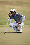 Rashid Khan of India in action during the Venetian Macao Open 2016 at the Macau Golf and Country Club on 16 October 2016 in Macau, China. Photo by Marcio Machado / Power Sport Images