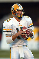 Ricky Ray Edmonton Eskimos. Photo Scott Grant