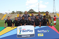 BOGOTÁ - COLOMBIA, 05-03-2020. Formacion de Tigres.Tigres y Barranquilla   en partido de vuelta por la primera ronda de clasificación de la Copa Betplay DIMAYOR 2020 jugado en el estadio Metropolitano  de Techo en Bogotá. /Team of Tigres. Tigres   and Barranquilla  for the second leg match BetPlay DIMAYOR Cup 2020 played at Metropolitano de Techo stadium in Bogota city. Photo: VizzorImage / Felipe Caicedo/ Satff