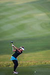 Elizabeth Elmassian of Australia plays a shot during the Hyundai China Ladies Open 2014 at World Cup Course in Mission Hills Shenzhen on December 13 2014, in Shenzhen, China. Photo by Xaume Olleros / Power Sport Images