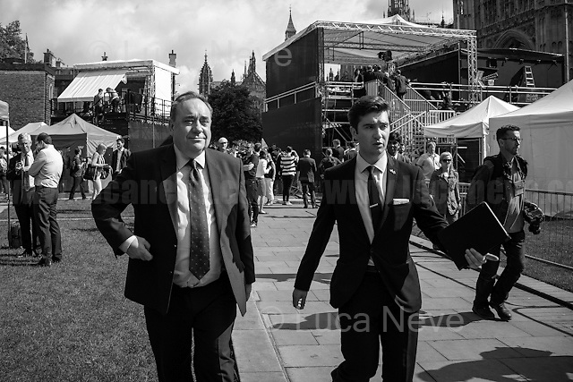 Alex Salmond (Scottish politician who served as the fourth First Minister of Scotland from 2007 to 2014).<br />