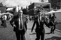 """Alex Salmond (Scottish politician who served as the fourth First Minister of Scotland from 2007 to 2014).<br /> <br /> 24.06.2016 - """"Faces From College Green (Part 1)"""".<br /> <br /> London, March-July 2016. Reporting the EU Referendum 2016 (Campaign, result and outcomes) observed through the eyes (and the lenses) of an Italian freelance photojournalist (UK and IFJ Press Cards holder) based in the British Capital with no """"press accreditation"""" and no timetable of the main political parties' events in support of the RemaIN Campaign or the Leave the EU Campaign.<br /> On the 23rd of June 2016 the British people voted in the EU Referendum... (Please find the caption on PDF at the beginning of the Reportage).<br /> <br /> For more photos and information about this event please click here: http://lucaneve.photoshelter.com/gallery/Faces-From-College-Green-Part-1/G0000Da_l8X4x2ho/C0000LiS.GOfEuNk<br /> <br /> For more information about the result please click here: http://www.bbc.co.uk/news/politics/eu_referendum/results"""