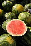 Lewisburg Farmers Market. Baby watermelons.