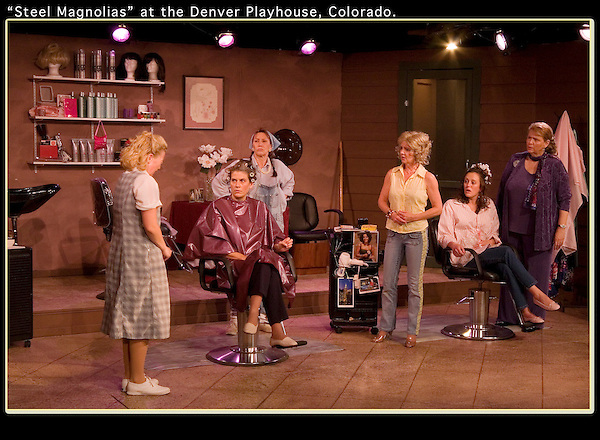 """On assignment, """"Steel Magnolias,"""" Denver Playhouse, Denver, Colorado. .  John offers private photo tours in Denver, Boulder and throughout Colorado. Year-round."""