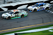 Monster Energy NASCAR Cup Series<br /> Daytona 500<br /> Daytona International Speedway, Daytona Beach, FL USA<br /> Sunday 18 February 2018<br /> Gray Gaulding, BK Racing, Toyota Camry and Jeffrey Earnhardt, StarCom Racing, VRX Simulators Chevrolet Camaro<br /> World Copyright: Rusty Jarrett<br /> LAT Images