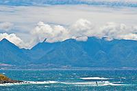 Windsurfers at the beach at Hookipa