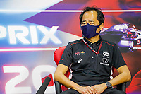TANABE Toyoharu, Technical Director of Honda Racing F1, portrait, press conference during Formula 1 Gulf Air Bahrain Grand Prix 2021 from March 26 to 28, 2021 on the Bahrain International Circuit, in Sakhir, Bahrain -  <br /> 26/03/2021 <br /> Formula 1 Gp Bahrein <br /> Photo Florent Gooden/DPPI/Panoramic/Insidefoto <br /> Italy Only <br /> 26/03/2021 <br /> Formula 1 Gp Bahrein <br /> Photo DPPI/Panoramic/Insidefoto <br /> Italy Only