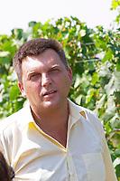 The vineyard manager UNK UNK. Hercegovina Vino, Mostar. Federation Bosne i Hercegovine. Bosnia Herzegovina, Europe.
