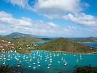 View of Coral Bay .St. John.U.S. Virgin Islands