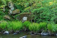 France, Haute-Vienne (87), Saint-Junien, vallée de la Glane, site Corot classé site naturel, le médaillon de Corot // France, Haute Vienne, Saint-Junien, Corot site