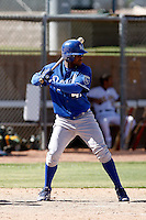 Luis Del Rosario - Kansas City Royals 2009 Instructional League. .Photo by:  Bill Mitchell/Four Seam Images..