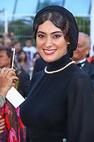 Soudabeh Beizaee, sur le tapis rouge pour la projection du film D APRES UNE HISTOIRE VRAIE, hors competition lors du soixante-dixième (70ème) Festival du Film à Cannes, Palais des Festivals et des Congres, Cannes, Sud de la France, samedi 27 mai 2017.