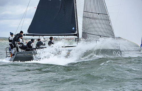 Glyn Locke's Farr 280 Toucan retain their HP30 Class title following two days of competitive Solent racing in the RORC Vice Admiral's Cup