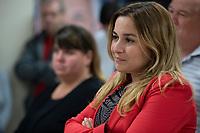 Marcelina Jugureanu, Sanguinet <br /> le jour des elections, 1er octobre 2018<br /> <br /> PHOTO : Agence Quebec Presse