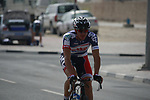 Adam Hansen (AUS) Lotto-Belisol Team before the start of Stage 1 of the Tour of Qatar 2012 running 142.5km from Barzan Towers to Doha Golf Club, Doha, Qatar. 5th February 2012.<br /> (Photo by Eoin Clarke/NEWSFILE).