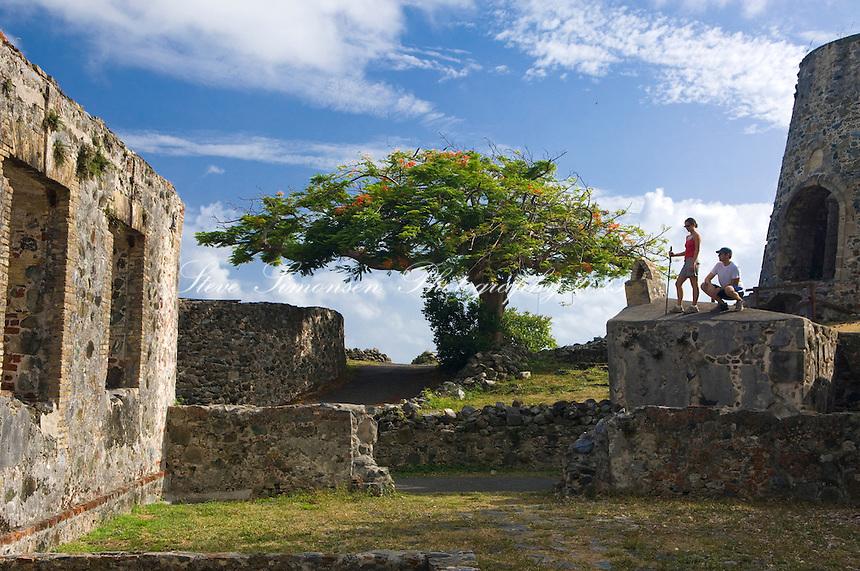 Tiffany and Devon <br /> Annaberg Sugar Plantation Ruins<br /> Virgin Islands National Park<br /> St. John, U.S. Virgin Islands