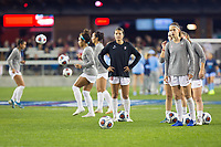 Stanford, CA - December 8, 2019: Sam Tran, Kattalin Stahl at Avaya Stadium. The Stanford Cardinal won their 3rd National Championship, defeating the UNC Tar Heels 5-4 in PKs after the teams drew at 0-0.