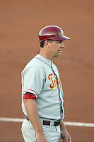 Chad Kreuter, head coach -  University of Southern California Trojans against the Arizona State Sun Devils at Packard Stadium, Tempe, AZ - 04/16/2010.Photo by:  Bill Mitchell/Four Seam Images.