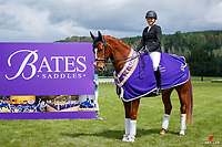 ADVANCED MEDIUM - BATES NATIONAL CHAMPIONSHIP: Casey Burton rides Fanfare MH.<br /> 2020 NZL-Bates Saddles NZ Dressage Championships. NEC Taupo. Sunday 22 November 2020. Copyright Photo: Libby Law Photography