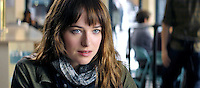 50 SHADES OF GREY <br /> Ttarring Dakota Johnson and Jamie Dornan. <br /> Picture shows: Dakota in a scene from the movie <br /> REF NO : 75596 <br /> FOR EDITORIAL USE ONLY