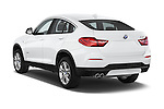 Car pictures of rear three quarter view of 2017 BMW X4 xDrive28i 5 Door SUV Angular Rear