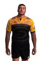 Jeff Toomaga-Allen. Hurricanes Super Rugby official headshots at Rugby League Park, Wellington, New Zealand on Wednesday, 6 January 2016. Photo: Dave Lintott / lintottphoto.co.nz