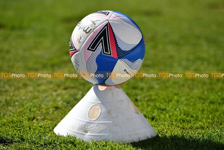 EFL Match Day Ball during Stevenage vs Bradford City, Sky Bet EFL League 2 Football at the Lamex Stadium on 5th April 2021