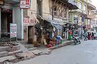 Nepal, Kathmandu.  Street Scene.