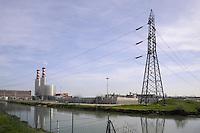 - centrale termoelettrica ENEL a gas metano Teodora a Ravenna - Porto Corsini<br /> <br /> - ENEL power plant fueled by methane gas in Ravenna - Porto Corsini