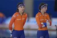 SPEEDSKATING: Calgary, The Olympic Oval, 07-02-2020, ISU World Cup Speed Skating, Femke Kok (NED), Melissa Wijfje (NED), ©foto Martin de Jong
