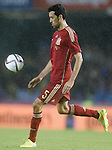 Spain's Sergio Busquets during international friendly match.November 18,2014. (ALTERPHOTOS/Acero)