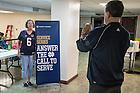 November 11, 2016; 2016 Shamrock Series service project at St. Gerard's High School in San Antonio. (Photo by Matt Cashore/University of Notre Dame)