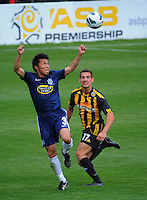 131110 ASB Premiership Football - Team Wellington v Auckland City