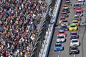 2017 Monster Energy NASCAR Cup Series<br /> STP 500<br /> Martinsville Speedway, Martinsville, VA USA<br /> Sunday 2 April 2017<br /> Jimmie Johnson and Martin Truex Jr, Furniture Row/Denver Mattress Toyota Camry<br /> World Copyright: Nigel Kinrade/LAT Images<br /> ref: Digital Image 17MART1nk06457