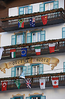 Europe/Italie/Vénétie/Dolomites/Cortina d'Ampezzo: Hotel Ancora