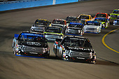 NASCAR Camping World Truck Series <br /> Lucas Oil 150<br /> Phoenix Raceway, Avondale, AZ USA<br /> Friday 10 November 2017<br /> Noah Gragson, Switch Toyota Tundra, Christopher Bell, Toyota Toyota Tundra<br /> World Copyright: Logan Whitton<br /> LAT Images