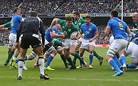 Saturday 10th February 2018 | Ireland vs Italy<br /> <br /> Jacob Stockdale during the Six Nations Rugby Championship match between Ireland and Italy at the Aviva Stadium, Lansdowne Road,  Dublin Ireland. Photo by John Dickson / DICKSONDIGITAL