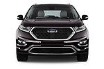 Car photography straight front view of a 2017 Ford Edge Vignale base 5 Door SUV