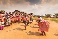 Africa, Uganda , Queen Elisabeth park, KIHI, school