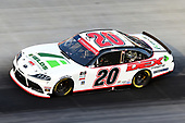 BRISTOL, TENNESSEE - JUNE 01: Harrison Burton, driver of the #20 DEX Imaging/Fields Toyota, drives during the NASCAR Xfinity Series Cheddar's 300 presented by Alsco at Bristol Motor Speedway on June 01, 2020 in Bristol, Tennessee. (Photo by Jared C. Tilton/Getty Images)