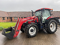 BNPS.co.uk (01202) 558833. <br /> Pic: Symonds&Sampson/BNPS<br /> <br /> Pictured: A Case tractor included in the sale. <br /> <br /> A cache of more than 38 classic cars, lorries, motorcycles and tractors spanning six decades are up for auction after being found in a barn belonging to a collector. <br /> <br /> The collection includes Fords imported from America, original two-door Range Rovers and an MG MGA sports car which can sell for more than £50,000 when fully restored. <br /> <br /> The cars are being sold by auctioneers on behalf of the beneficiaries of the recently deceased classic car enthusiast Kelvin Pike, in an online-only auction which ends on Tuesday (June 15).