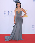Morena Baccarin. at The 64th Anual Primetime Emmy Awards held at Nokia Theatre L.A. Live in Los Angeles, California on September  23,2012                                                                   Copyright 2012 Hollywood Press Agency